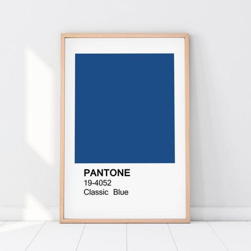 Couleur Pantone 2020: PANTONE 19-4052 Classic Blue - Sélection affiche