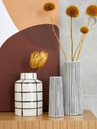 Soldes Hiver 2020 - wishlist - Vase rayé Iri - La Redoute Intérieurs